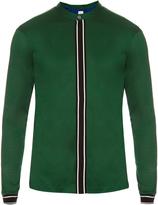 Paul Smith Stand-collar cotton-jersey shirt