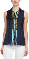 Julie Brown Designs Silk Twill Top