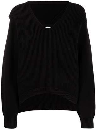 Alexander Wang ribbed knitted jumper