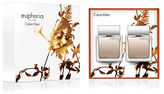 Calvin Klein Euphoria for Men Eau de Toilette and After Shave Gift Set- 130.00 Value