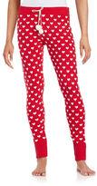 Betsey Johnson Patterned Knit Pajama Pants