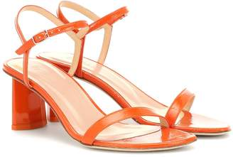BY FAR Exclusive to Mytheresa Magnolia patent leather sandals
