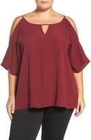 Sejour Plus Size Women's Off The Shoulder Blouse