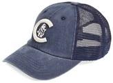 American Needle Men's 'Chicago Cubs - Raglan Bones' Mesh Trucker Cap - Blue