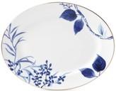 "Kate Spade Birch Way Indigo Collection 13"" Oval Platter"