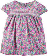 Carter's Floral Print Top - Preschool Girls 4-6x