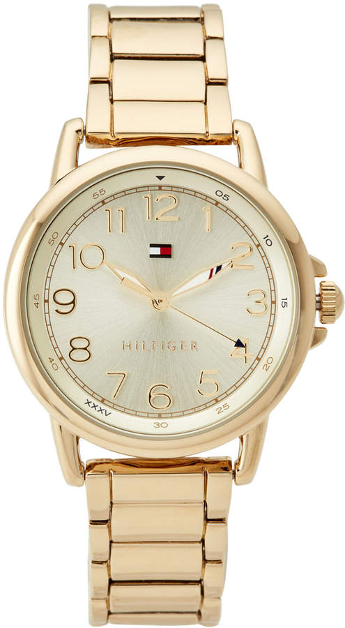 Tommy Hilfiger 1781656 Gold-Tone Casey Watch