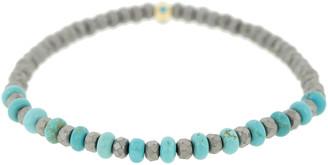 Luis Morais Tetra Turquoise Bead Bracelet