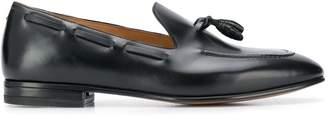 Francesco Russo tassel detail pointed loafers