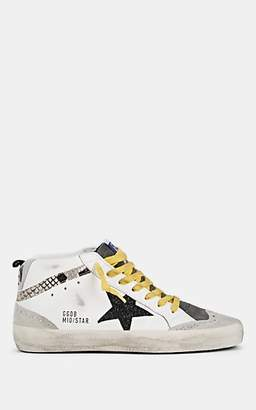 Golden Goose Women's Mid Star Leather & Suede Sneakers - White