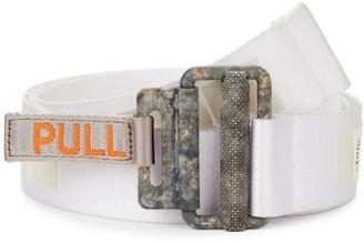Heron Preston Concrete Jungle Reflective Tape Belt