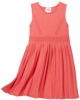 Milly Minis Pleated Dress (Toddler & Little Girls)