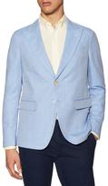 Gant R. Summer Twill Peak Lapel Sportcoat