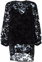 Antonio Marras lace overlay blouse