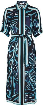 Diane von Furstenberg Sogal Printed Crepe Dress