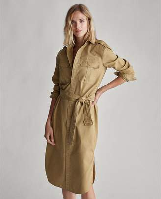 Ralph Lauren Cotton Twill Shirtdress