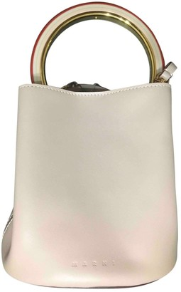 Marni Pannier Pink Leather Handbags