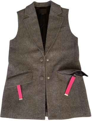Alexander Wang Grey Wool Jackets