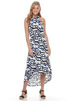 Apt. 9 Women's Print High-Low Maxi Dress