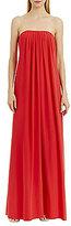 Nicole Miller New York Strapless Chiffon Dress