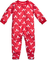Family Pajamas 1-Pc Moose-Print Footed Pajamas, Baby Boys' or Baby Girls' (12-24 months) and Toddler Boys' or Toddler Girls' (2T-3T) Created for Macy's