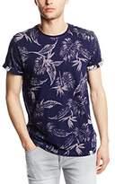 Eleven Paris Men's Rasik M Floral Short Sleeve Sweatshirt