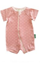 Parade Organics Organic Baby Shortie Zip Romper