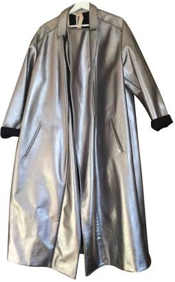Nâ°21 NA21 Silver Wool Coats