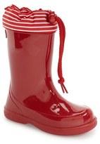 Igor Toddler 'Pipo Nautico' Waterproof Rain Boot