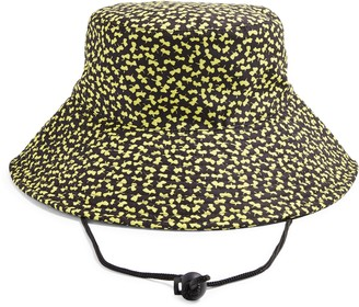 Topshop Quilted Floral Bucket Hat