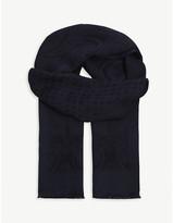 Eton Paisley weave print scarf