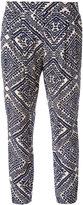 Steffen Schraut aztec print trousers