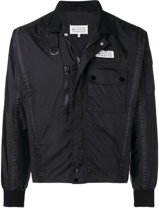 Maison Margiela Logo Tab Sports Jacket