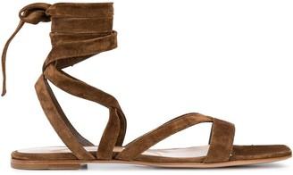 Gianvito Rossi Tie Around Sandals