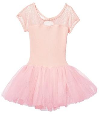 Capezio Keyhole Back Tutu Dress (Toddler/Little Kids/Big Kids)