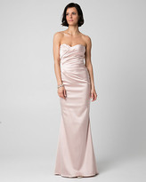 Le Château Satin Sweetheart Gown