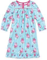 Peppa Pig Long Sleeve Nightgown-Toddler Girls