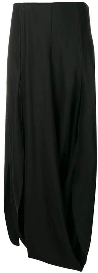 Nahil draped skirt