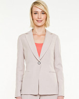 Le Château Linen Blend Notch Collar Blazer