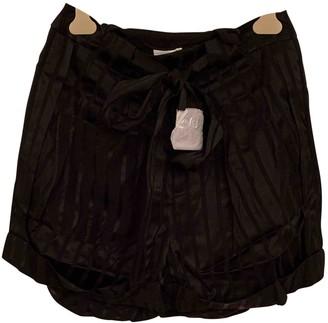 H&M Studio Studio Black Shorts for Women