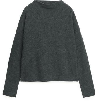 Arket Merino Cotton Jersey Jumper
