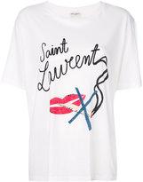 Saint Laurent Bouche boyfriend T-shirt