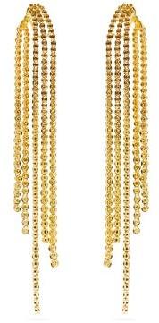Lynn Ban - Voss Lab-sapphire & Gold Drop Earrings - Womens - Gold