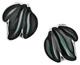 Mother of Pearl Carolyn Pollack Sterling and Grey Mother-of-Pearl Dangle Earrings