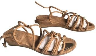 Stuart Weitzman \N Camel Other Sandals