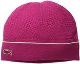 Lacoste Men's Wool Pique Knit Cap