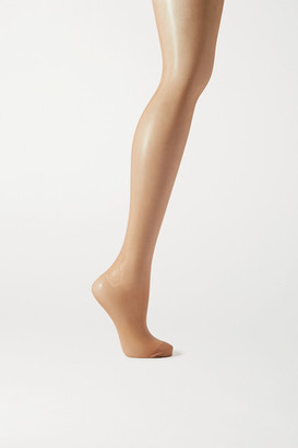 Wolford Synergy Push-up 20 Denier Compression Tights - Brown