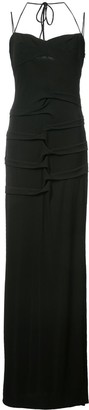 Nicole Miller fitted silhouette dress