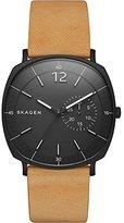 Skagen Men's SKW6257 Rungsted Light Brown Leather Watch