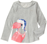 Gymboree Classic Gray Heather Toucan Tee - Girls